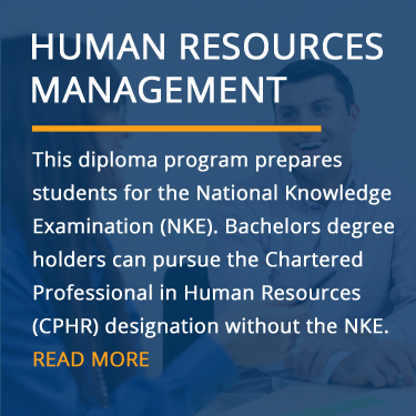 Human Resources Management Diploma (Online & In-Class)