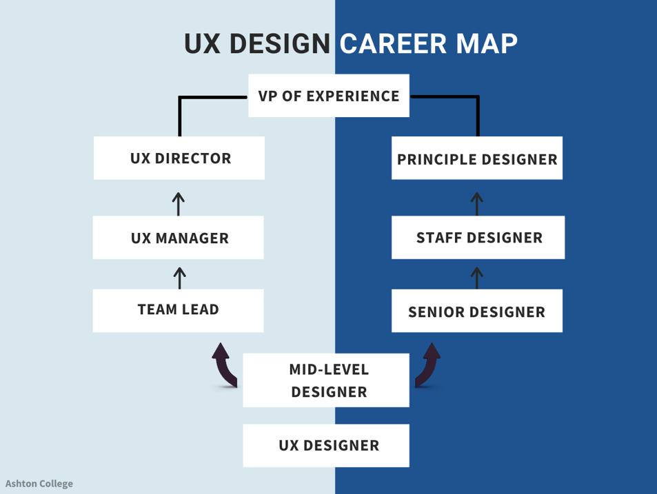 UX Design Career Map